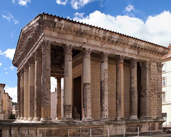 Temple of Augustus - Well-Preserved Roman Temple In The City Of Pula, Croatia.