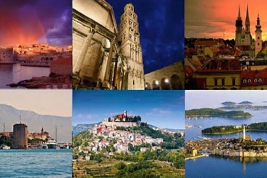 Multiple Images Of Tourist Spots In Pula Region